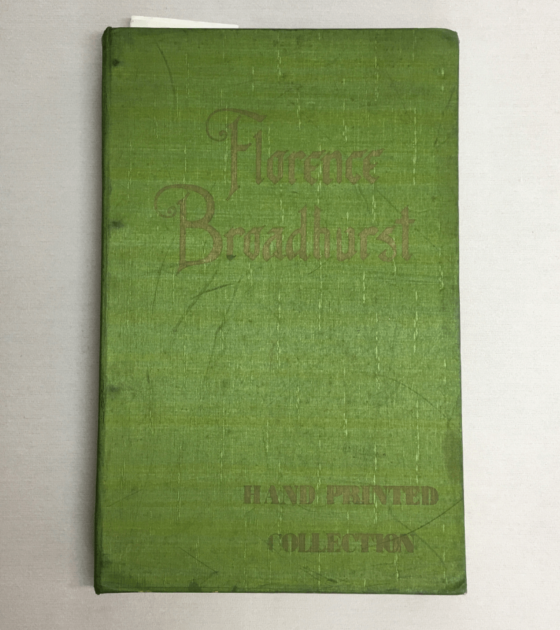 Original Florence Broadhurst wallpaper book