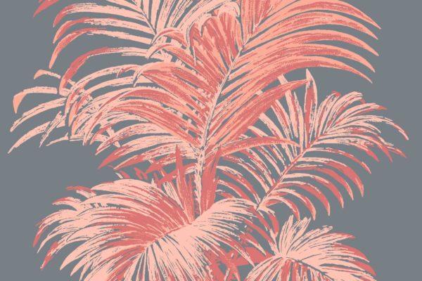 Palm, Flamingo, Florence Broadhurst fabric
