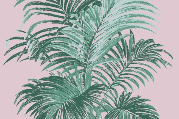 Palm, Pink Safari, Florence Broadhurst fabric