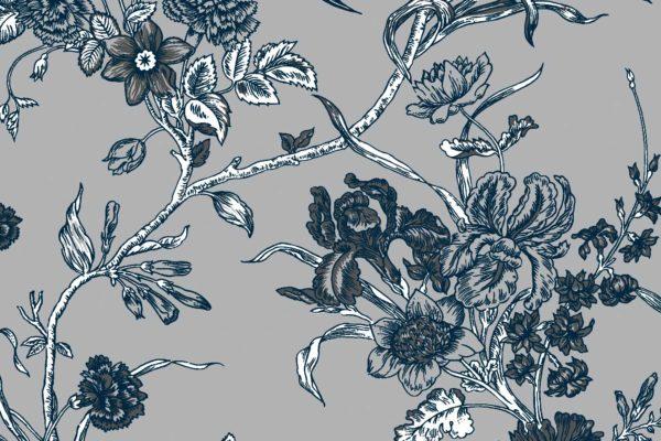 Carnation, shade, Florence Broadhurst fabric