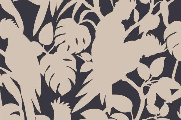 Cockatoos, blush, Florence Broadhurst fabric