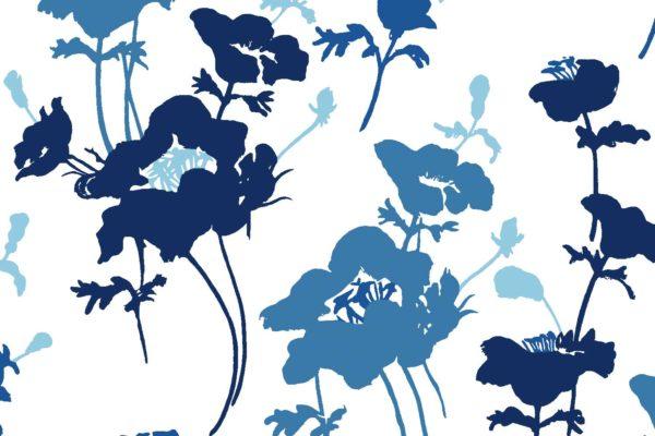 Floral 300, biro, Florence Broadhurst fabrics