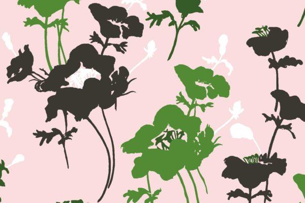 Floral 300, English garden, Florence Broadhurst fabrics