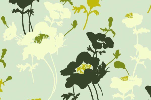 Floral 300, greenery, Florence Broadhurst fabrics