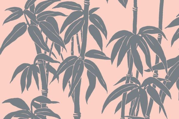 Japanese Bamboo, cooper, Florence Broadhurst fabric