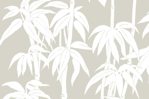Japanese Bamboo, quarry, Florence Broadhurst fabric