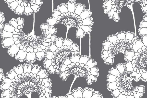 Japanese Floral, iron, Florence Broadhurst fabric
