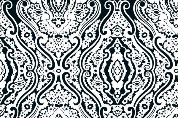 Wishbone Tapestry, batik, Florence Broadhurst fabric