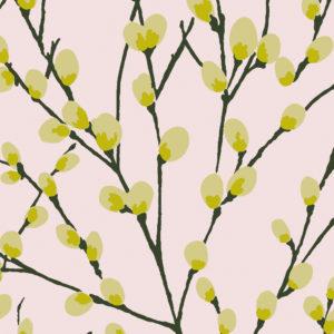 Innocence fabric, Blossom, Florence Broadhurst Fabrics