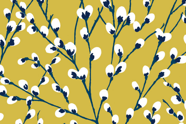 Innocence fabric, Dijon, Florence Broadhurst Fabrics