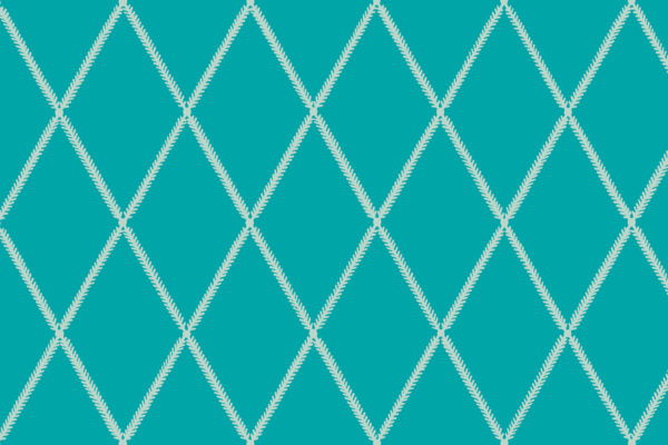 Lattice Leaf, Beach Blue, Florence Broadhurst Fabrics