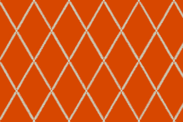 Lattice Leaf, Lava, Florence Broadhurst Fabrics