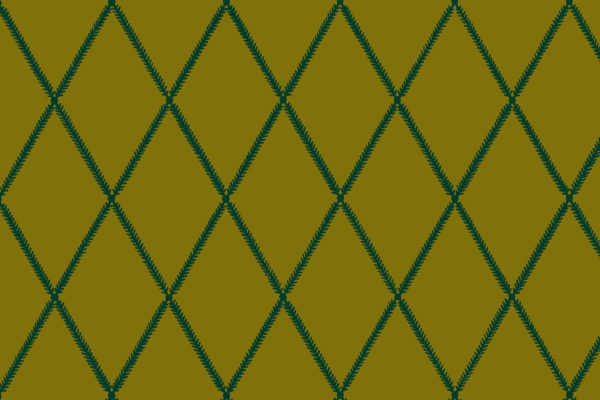 Lattice Leaf, Old Brass, Florence Broadhurst Fabrics