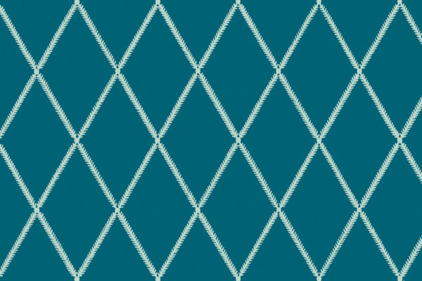 Lattice Leaf, Sea, Florence Broadhurst Fabrics