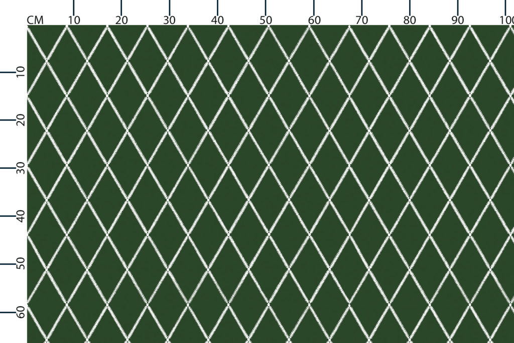 Lattice Leaf, scale in centimetres