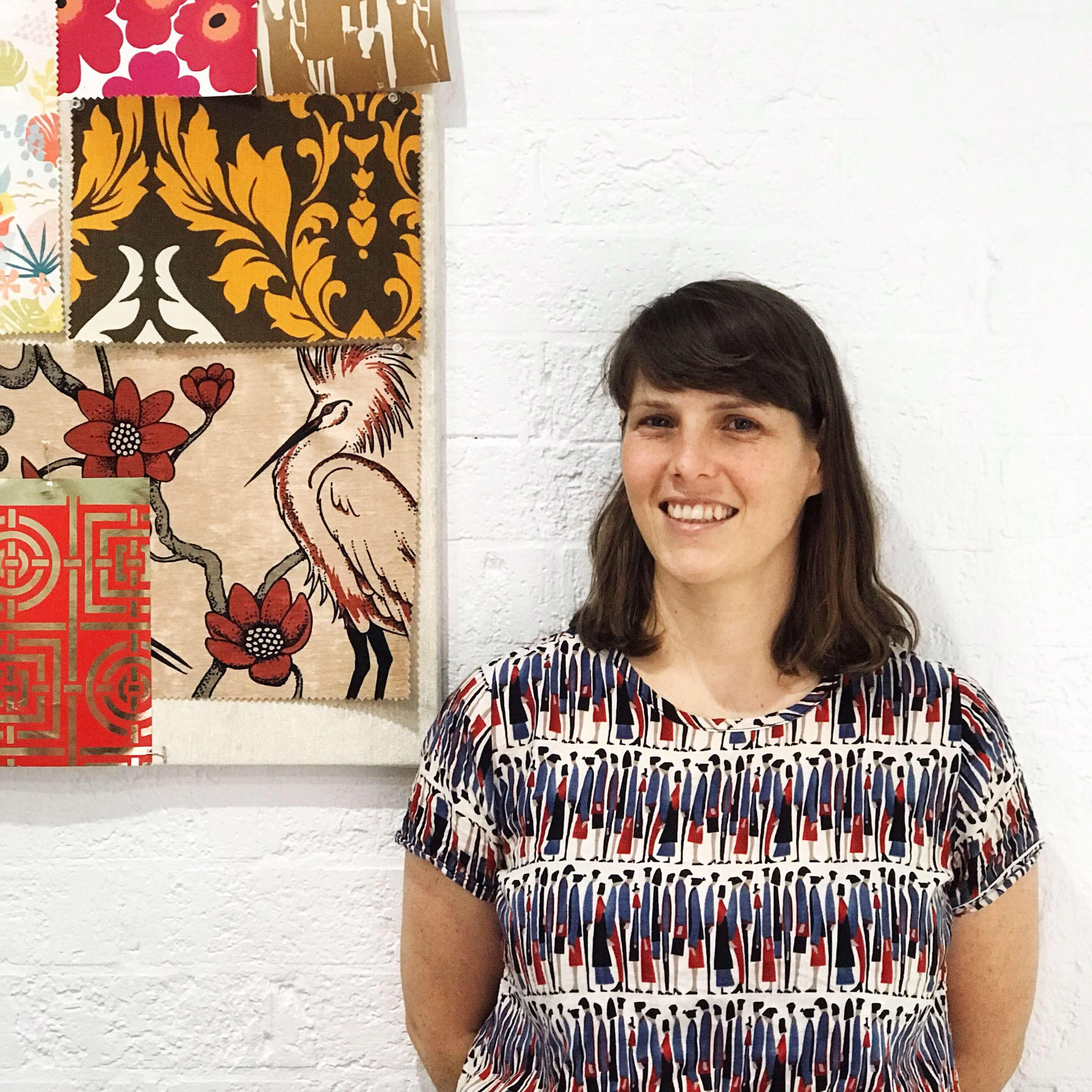 Cathy Klees, textile designer