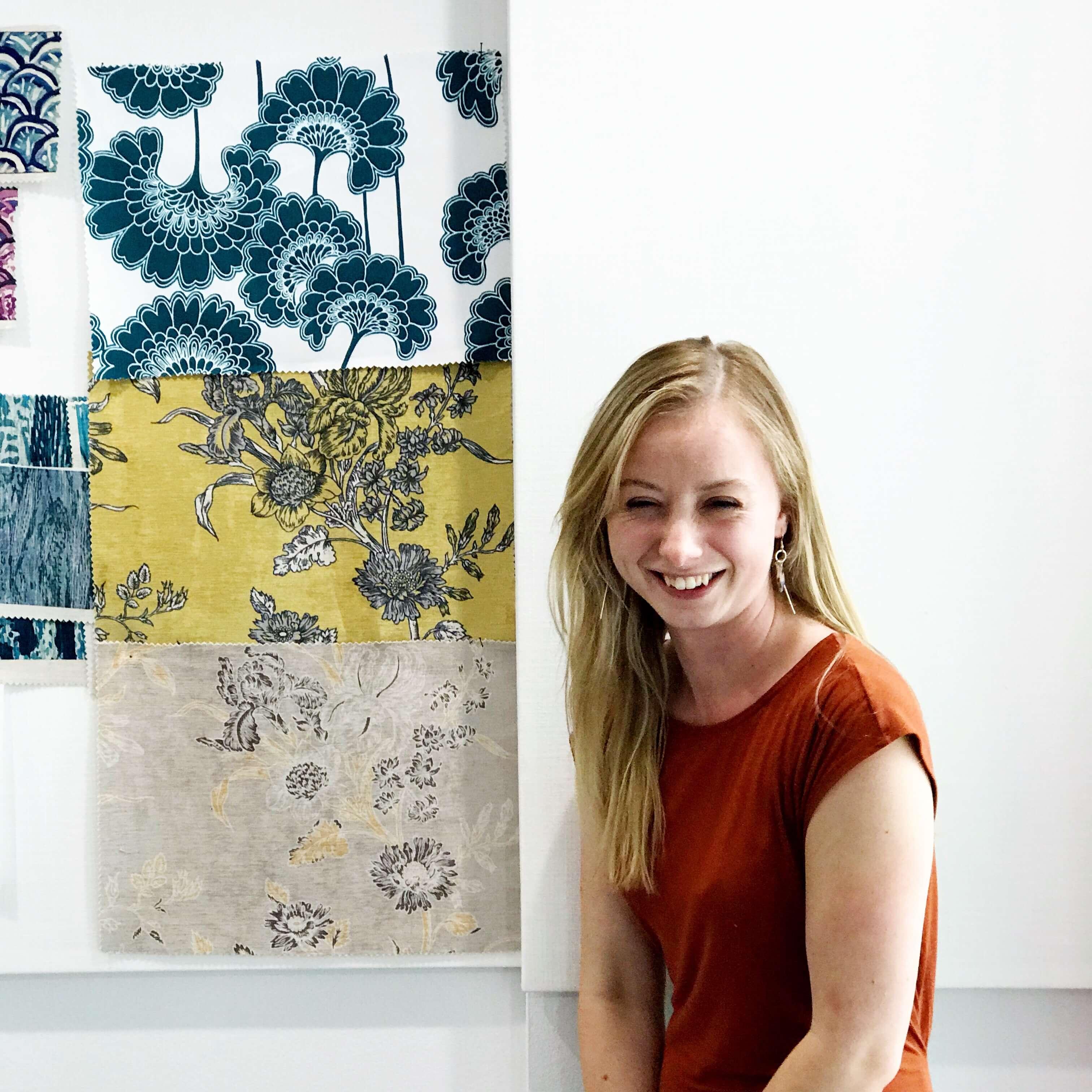 Chloe Evans, textile designer