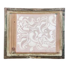 Florence Broadhurst silkscreen, Curly Swirls
