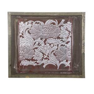 Florence Broadhurst silkscreen, Tudor Floral Tapestry Silkscreen