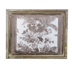 Florence Broadhurst silkscreen, Spring Floral design
