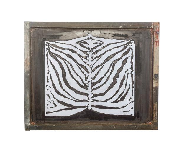 Florence Broadhurst Silkscreen, Tiger Stripe design