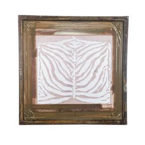 Florence Broadhurst Silkscreen, Tiger Stripe V2 design