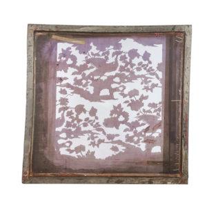 Florence Broadhurst silkscreen artwork, Phoenix design