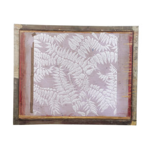 Florence Broadhurst Silkscreen, Big Fern design