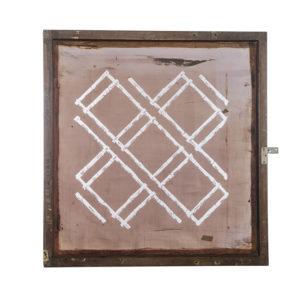 Florence Broadhurst Silkscreen, Bamboo Trellis design
