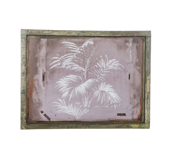Florence Broadhurst Silkscreen, 4 Colour Palm design