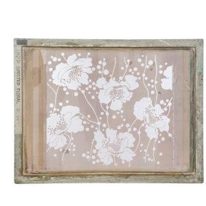 Florence Broadhurst Silkscreen, Spotted Floral design