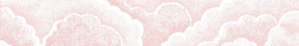 Halftone Clouds banner