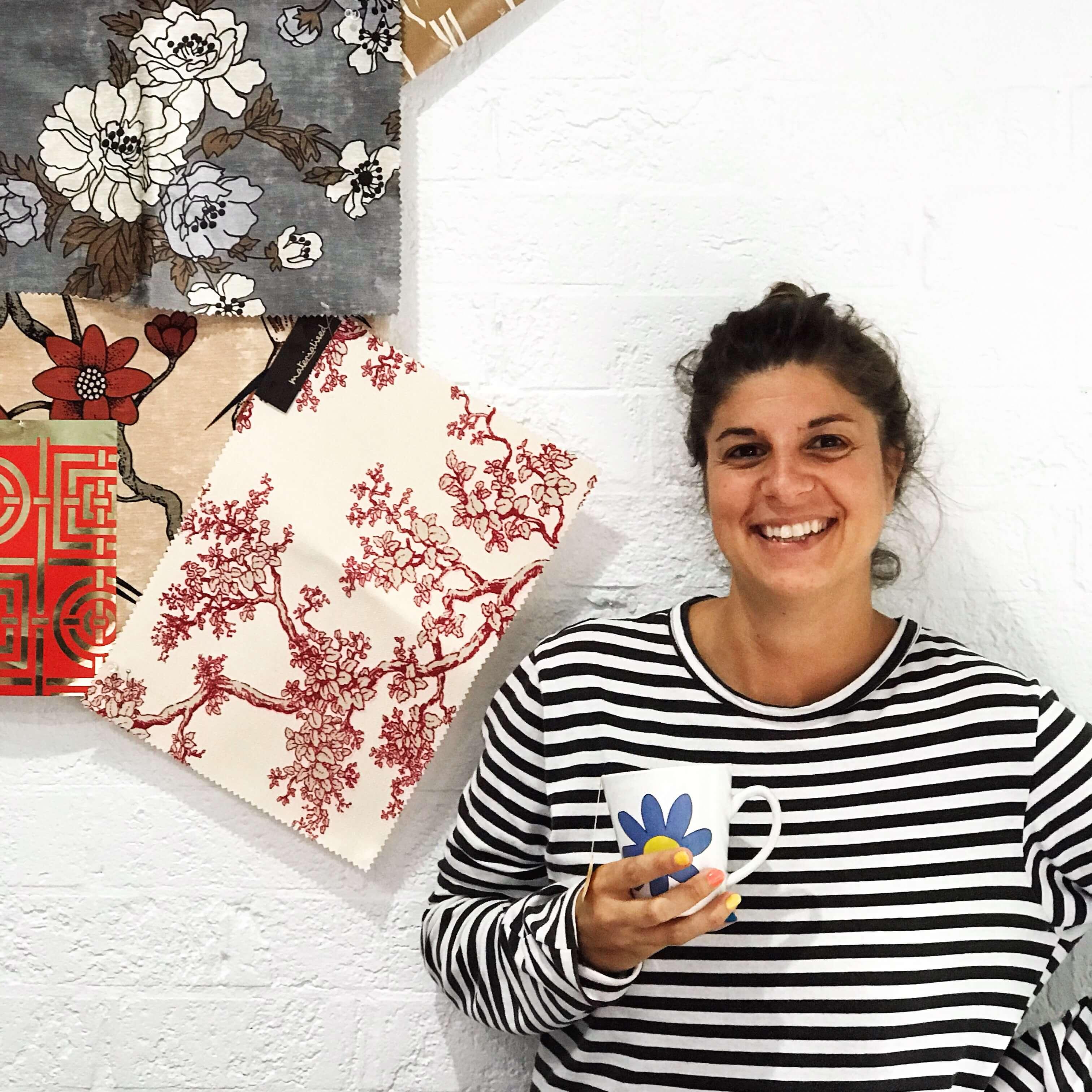 Sara Falavigna, textile designer