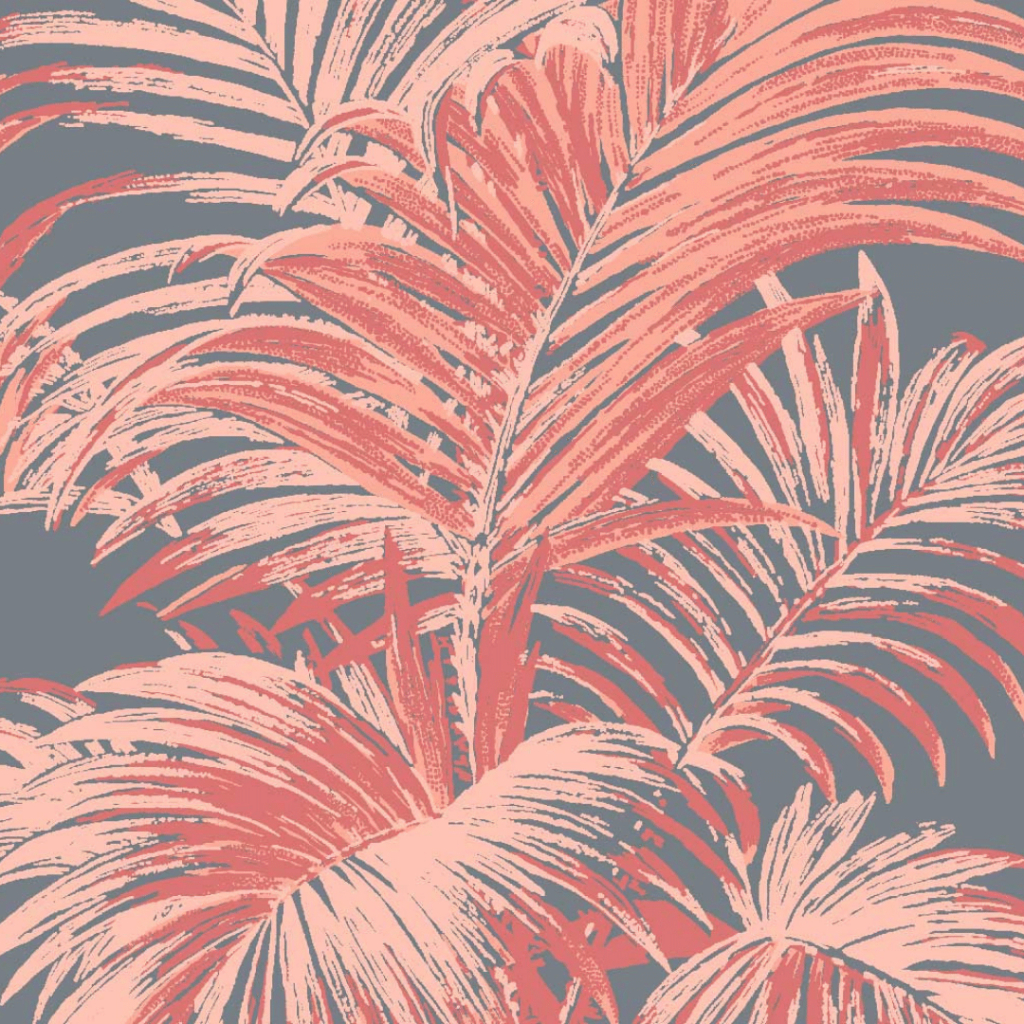 4 Colour Palm, Flamingo