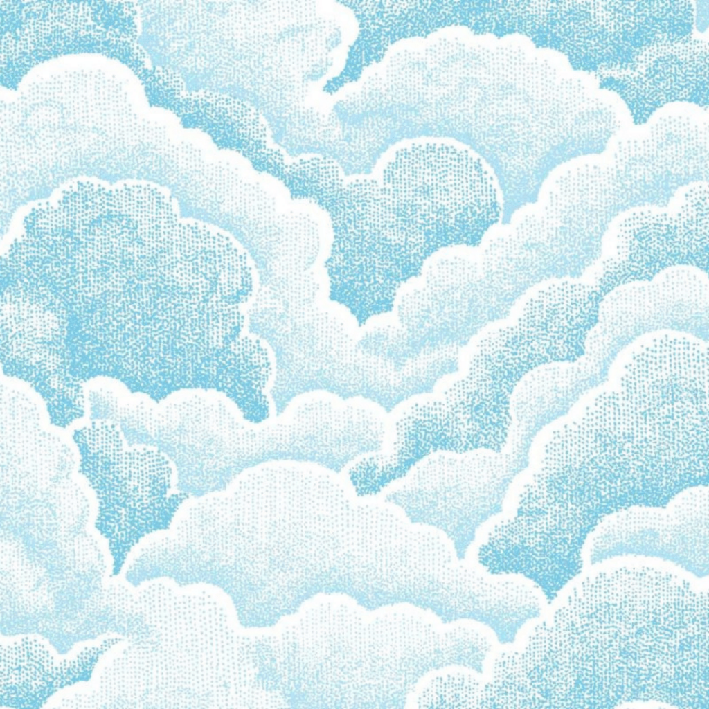 Halftone Clouds, Fresh
