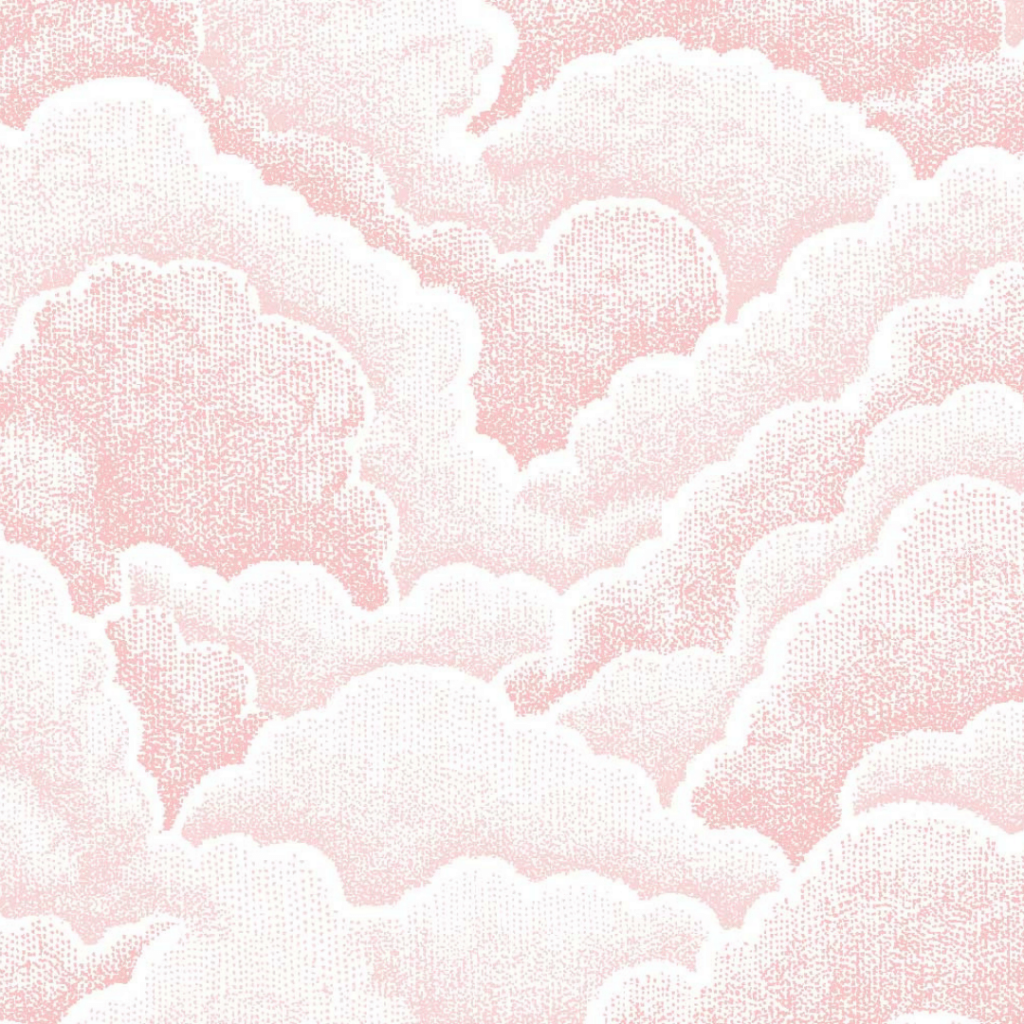 Halftone Clouds, Rose