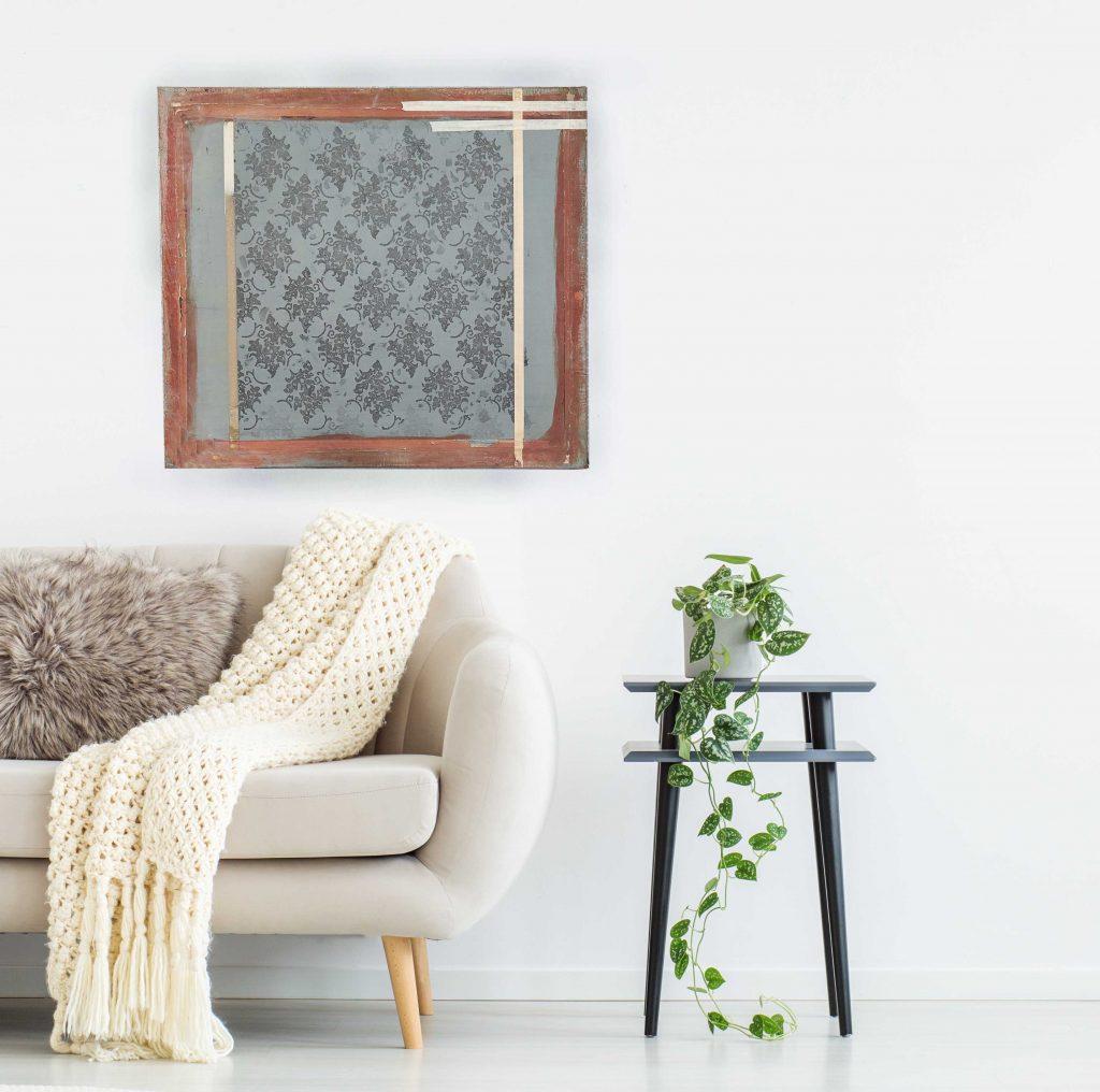 Tudor Tapestry silkscreen