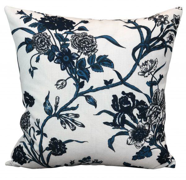 Carnation Ink Cushion