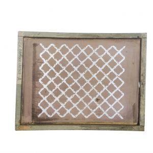 Florence Broadhurst Silkscreen, Bamboo Lattice