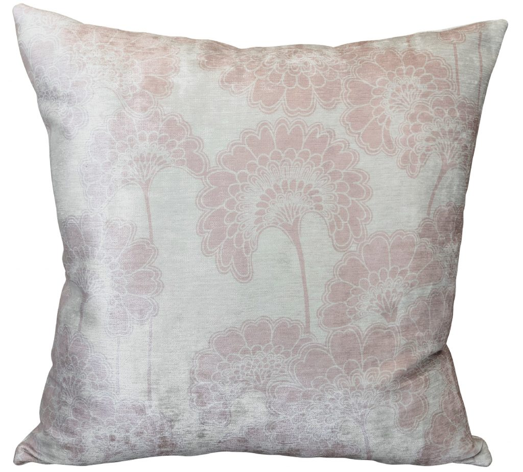 Japanese Floral Macaroon Cushion