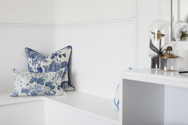 Cushions, Three Birds Renovations, Florence Broadhurst Fabrics