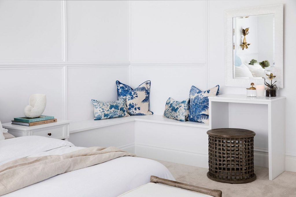 Colour me hamptons, Three Birds Renovations, Florence cushion covers