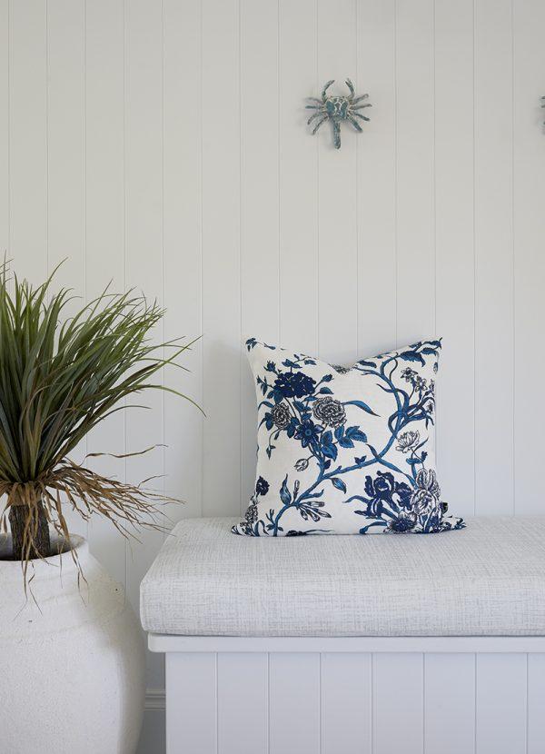 Carnation cushion cover, Three Birds Renovations, Florence Broadhurst