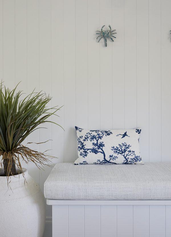 The Cranes cushion cover, Three Birds
