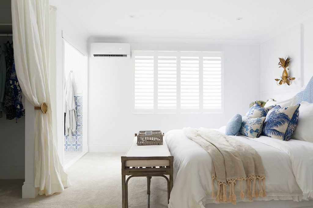 Master bedroom suite, cushion covers, Three Birds Renovations