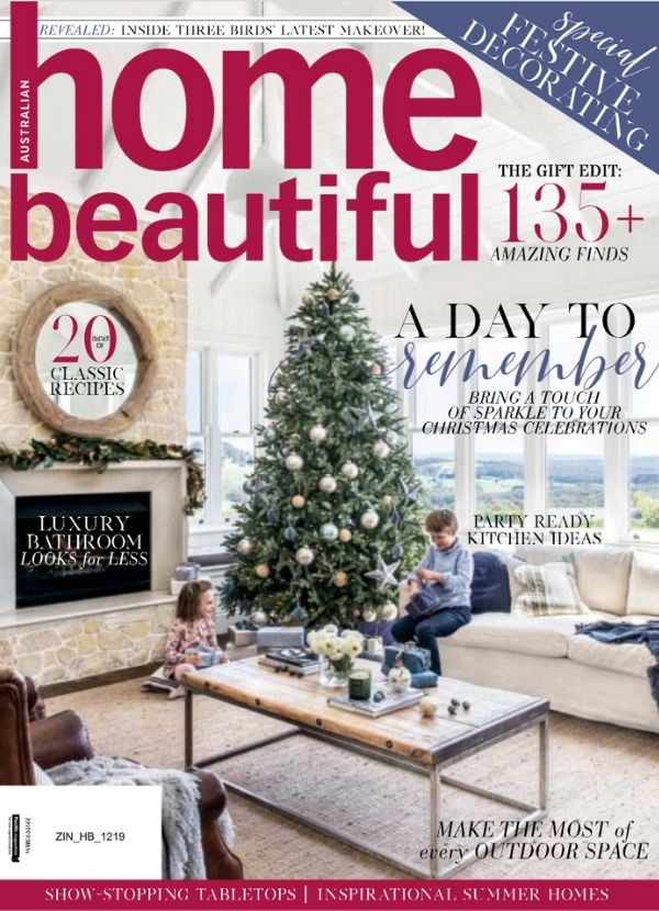 Home Beautiful Dec 2019 cover