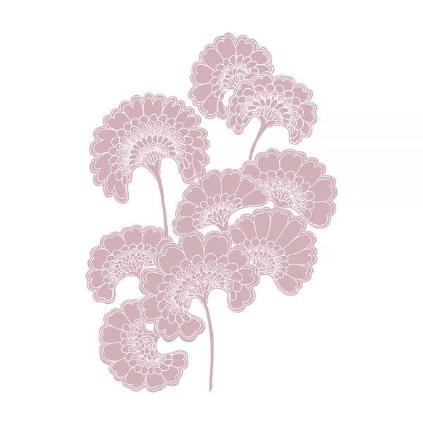 Florence Broadhurst Japanese Floral, Rose