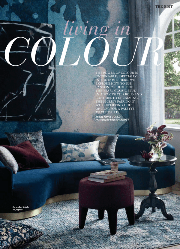Home Beautiful April 2020 Living In Colour