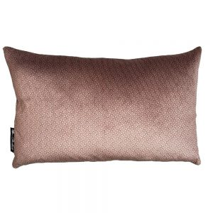 Chinese Key rust cushion cover