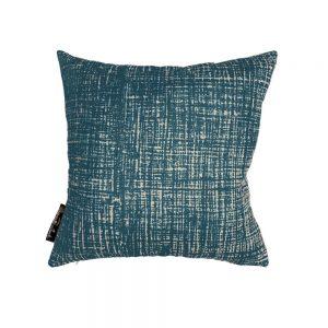 Hessian Marine square cushion